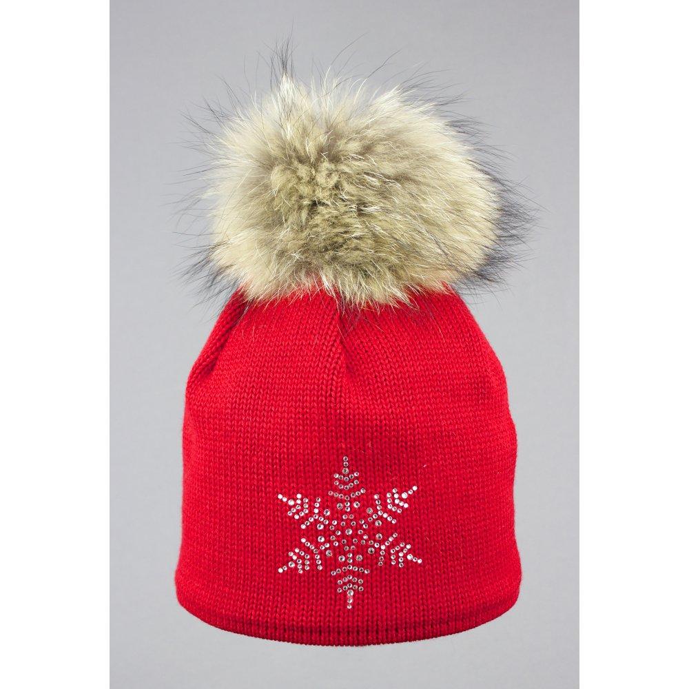 7dd3012166b Steffner Sky Womens Ski Hat In Red
