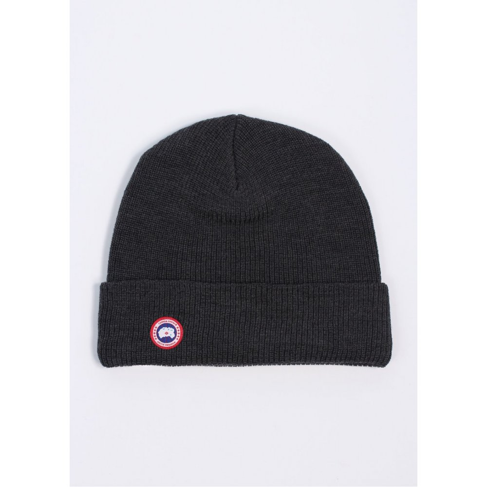 Canada Goose Merino Wool Watch Cap In Graphite c963821e7ae