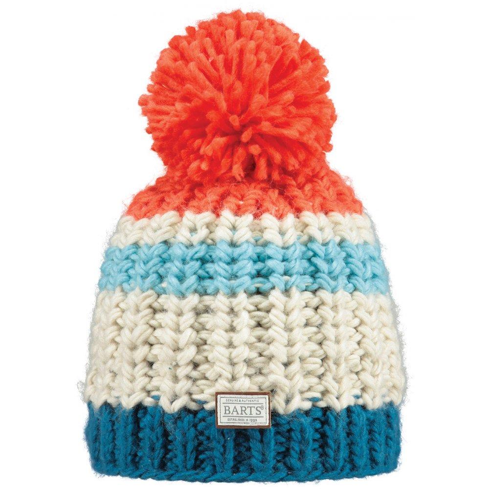Barts Colton Beanie Mens Ski Hat in Flame 0d9da37f055