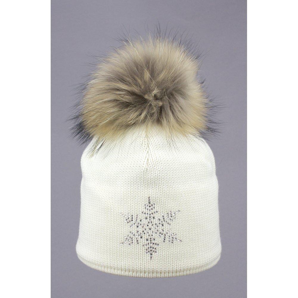 38733904da3 Steffner Sky Womens Ski Hat In Cream