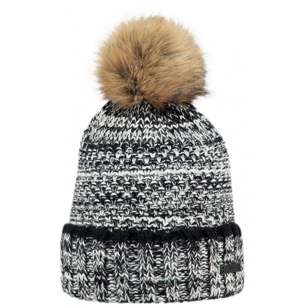 Barts Petunia Beanie Ski Hat in Black  8e5179922
