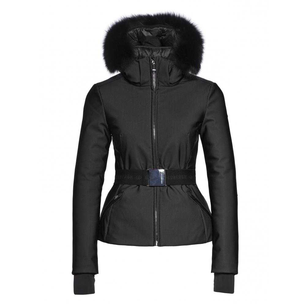 Goldbergh Kago Womens Designer Ski Jacket Black Ski