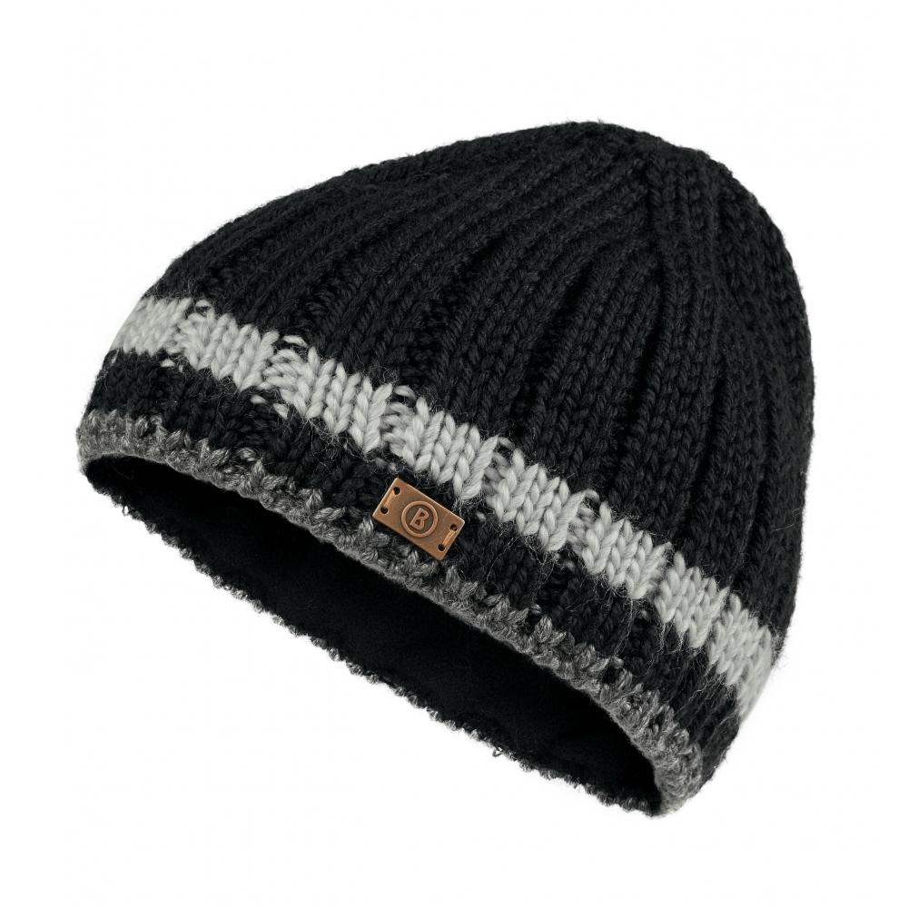 473ca9d61e79b Bogner Vincent Mens Ski Hat in Black