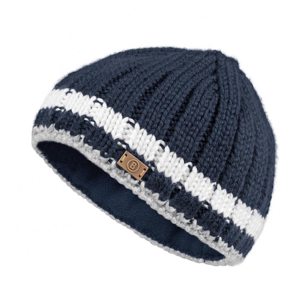 2e136daf4a8 Bogner Vincent Mens Ski Hat in Navy