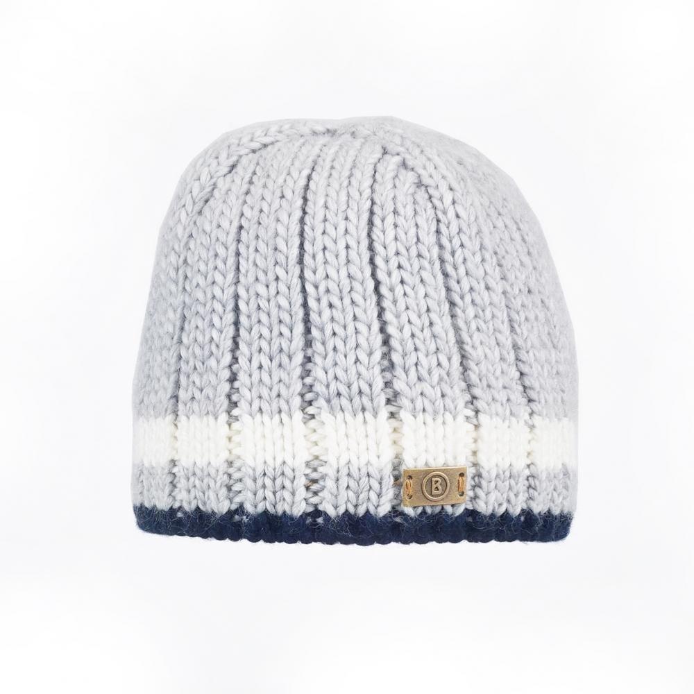 cef2788f88e Bogner Vincent Mens Ski Hat in Light Grey