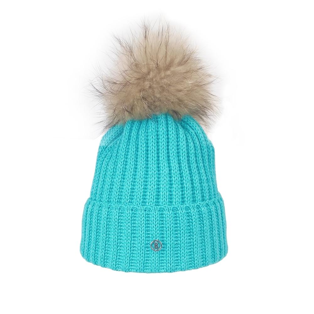 cece0524258 Bogner Leonie Womens Designer Ski Hat in Turquoise