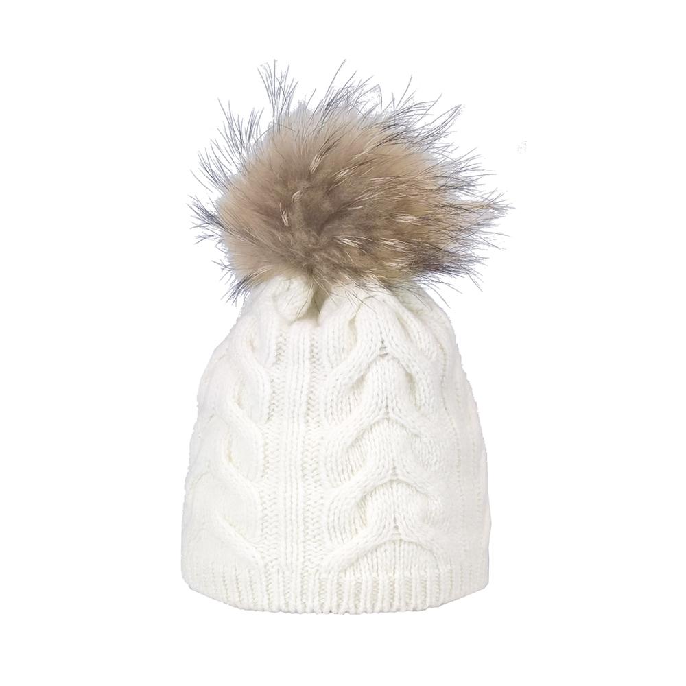 0b5acb303b4 Steffner Cindy-FL-Pel-M Womens Ski Hat In Off White