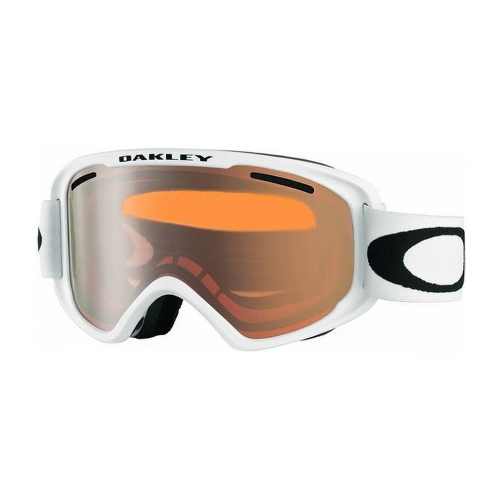 ec85de1d84 Oakley O Frame 2.0 XM Ski Goggle in Matte White with Persimmon